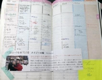 画像:だんだんすかすかになってくるジブン手帳