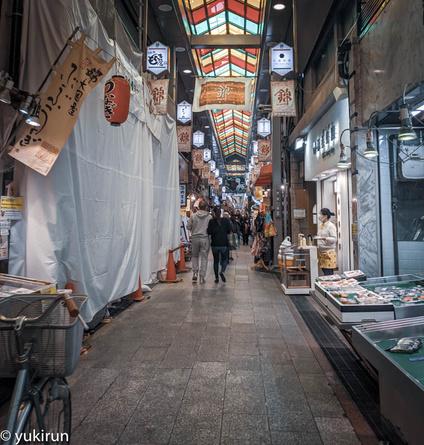 閑散としている京都は錦市場の様子…コロナ騒動、まじやばいっす!